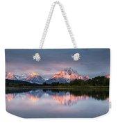 Oxbow Bend Sunrise Weekender Tote Bag