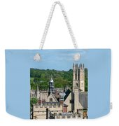 Oxford Tower View Weekender Tote Bag