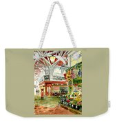 Oxford's Covered Market Weekender Tote Bag
