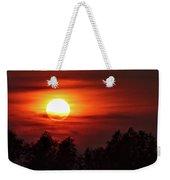 Oxfordshire Sunset Weekender Tote Bag by Jeremy Hayden