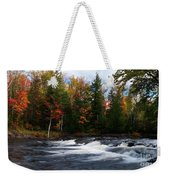 Oxtongue River Ontario Autumn Scenery Weekender Tote Bag