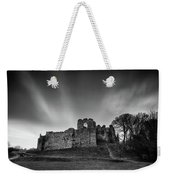 Oystermouth Casle At Mumbles Weekender Tote Bag