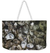Oysters Four Weekender Tote Bag