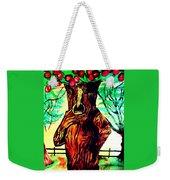 Oz Grumpy Apple Tree Weekender Tote Bag by Jo-Ann Hayden