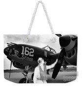 P-38 Ghost Flight Weekender Tote Bag