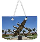 P-38 Memorial March Field Museum Weekender Tote Bag