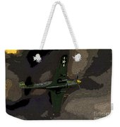P 40 Warhawk In Action Weekender Tote Bag