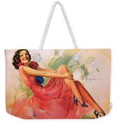 p rarmstrong 091 Rolf Armstrong Weekender Tote Bag