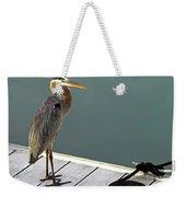 P1104117 Great Blue Heron Weekender Tote Bag