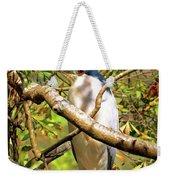 P2024983 Black Crowned Night Heron Weekender Tote Bag