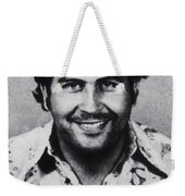Pablo Escobar Mug Shot 1991 Vertical Weekender Tote Bag