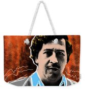 Pablo Escobar  Weekender Tote Bag