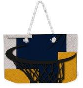 Pacers Hoop Weekender Tote Bag