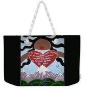 Pachamama Weekender Tote Bag