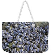 Pacific Blue Mussels Weekender Tote Bag