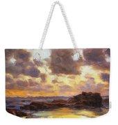 Pacific Clouds Weekender Tote Bag