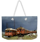 Pacific Electric Trolley, 5115, 316, Long Beach, California Weekender Tote Bag