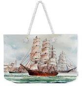 Pacific Fleet Weekender Tote Bag