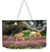 Pacific Grove Deer Feeding Weekender Tote Bag