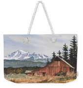 Pacific Northwest Landscape Weekender Tote Bag by James Williamson