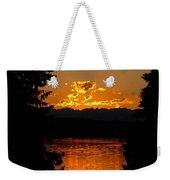 Pacific Northwest Sunset Weekender Tote Bag