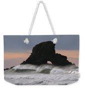 Pacific Northwest Waves Weekender Tote Bag