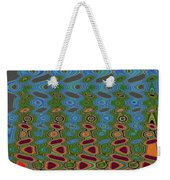 Pacific Ocean From Oregon Abstract Weekender Tote Bag