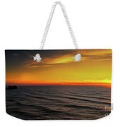 Pacific Sunset Weekender Tote Bag