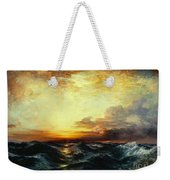 Pacific Sunset Weekender Tote Bag by Thomas Moran