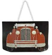 Packard 1937 Red Weekender Tote Bag
