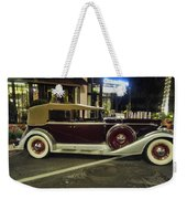 Packard Twelve Sedan Convertible Weekender Tote Bag