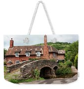 Packhorse Bridge At Allerford Weekender Tote Bag
