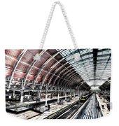 Paddington Station London Sketch Weekender Tote Bag