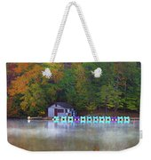 Paddle Boats On The Lake Weekender Tote Bag