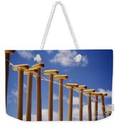 Paddles Hanging In A Row Weekender Tote Bag