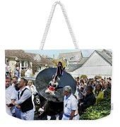 Padstow Blue Oss And Supporters Weekender Tote Bag