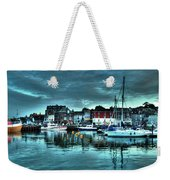 Padstow Harbour At Dusk Weekender Tote Bag