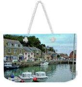Padstow Harbour - P4a16021 Weekender Tote Bag