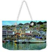 Padstow Harbour Slipway - P4a16023 Weekender Tote Bag