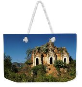 Pagoda In Ruins Weekender Tote Bag