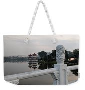 Pagoda Reflection In Chinese Garden Singapore Weekender Tote Bag