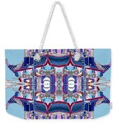 Pagoda Tower Becomes Chinese Lantern 2 Chinatown Chicago Weekender Tote Bag by Marianne Dow