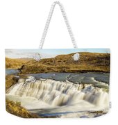 Paine River Waterfall Weekender Tote Bag
