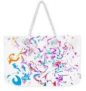 Paint Experiment 033 Weekender Tote Bag