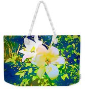 Paint Me In Water Color Said The Lilies To The Artist Weekender Tote Bag