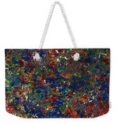 Paint Number 1 Weekender Tote Bag by James W Johnson