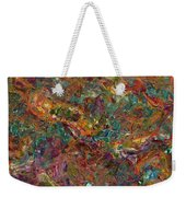 Paint Number 16 Weekender Tote Bag by James W Johnson