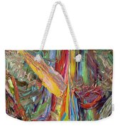 Paint Number 40 Weekender Tote Bag by James W Johnson