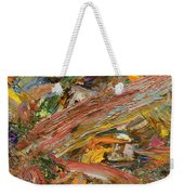Paint Number 41 Weekender Tote Bag by James W Johnson