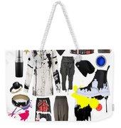 Paint Splatter Weekender Tote Bag